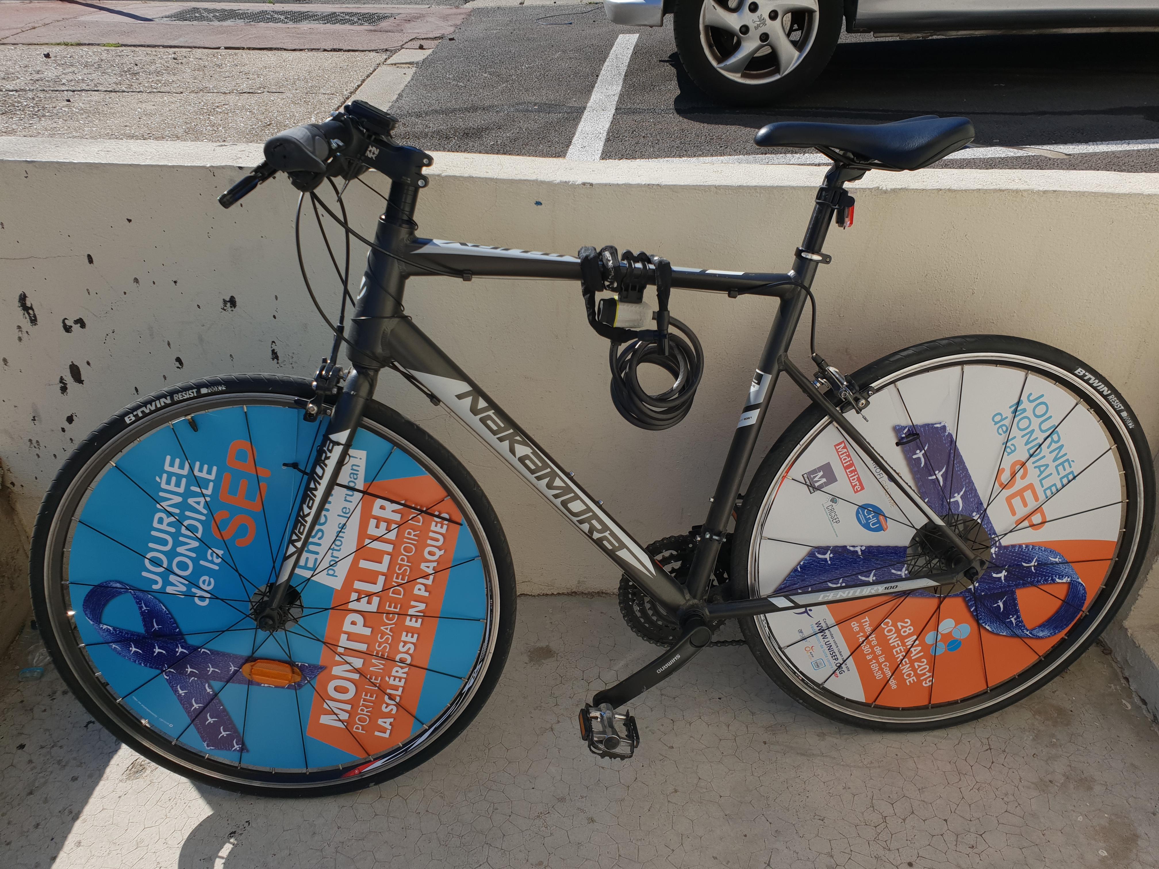 Vélo solidaire à Montpellier