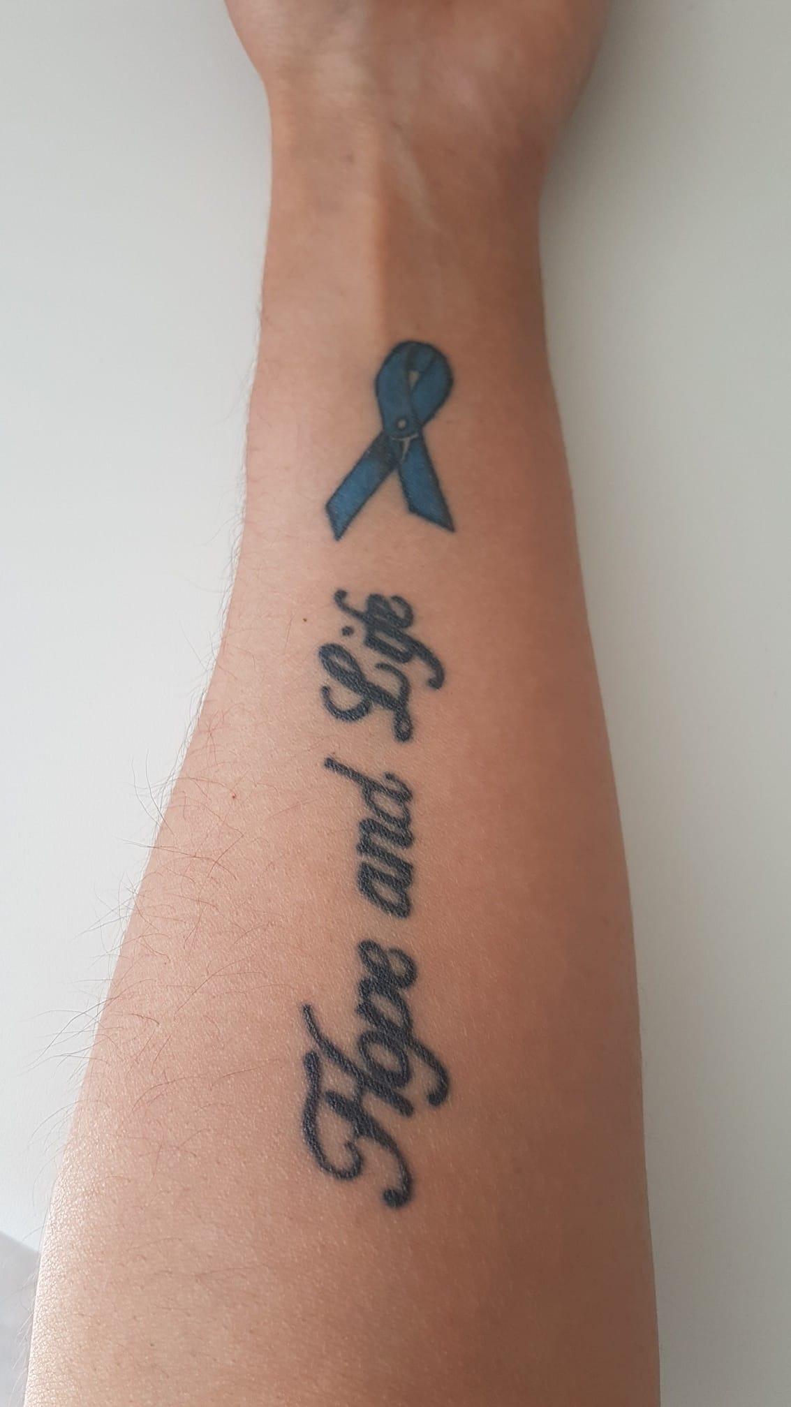 Ruban tatoué
