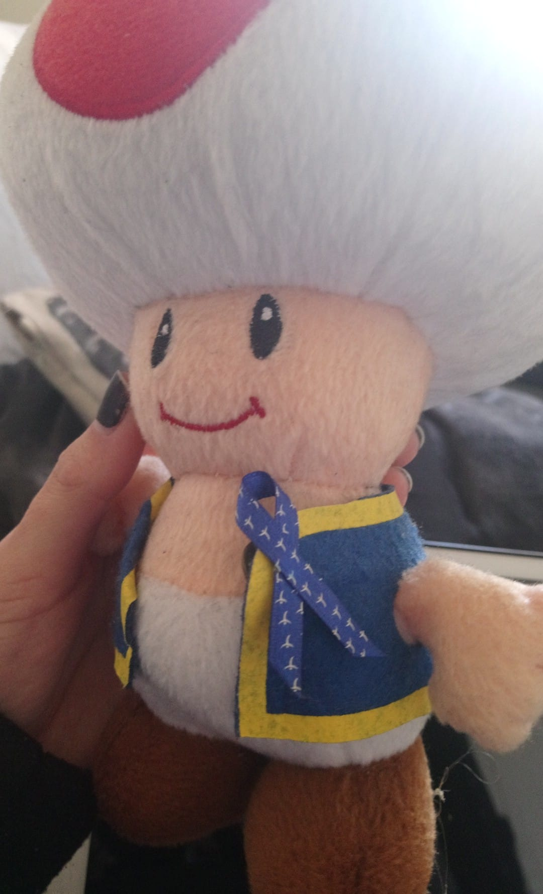 Ruban sur poupée