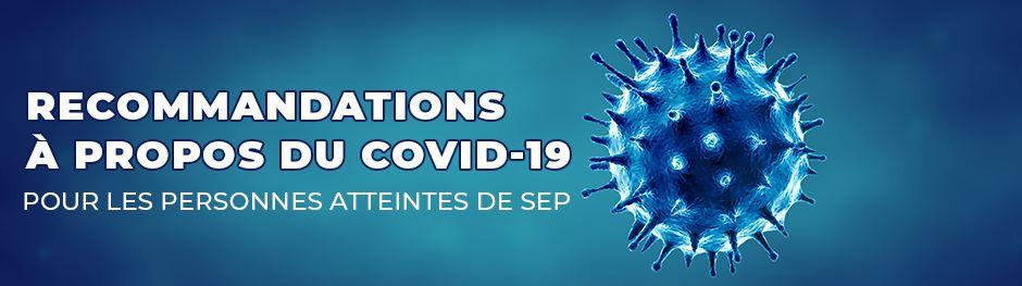 Recommandations à propos du COVID-19