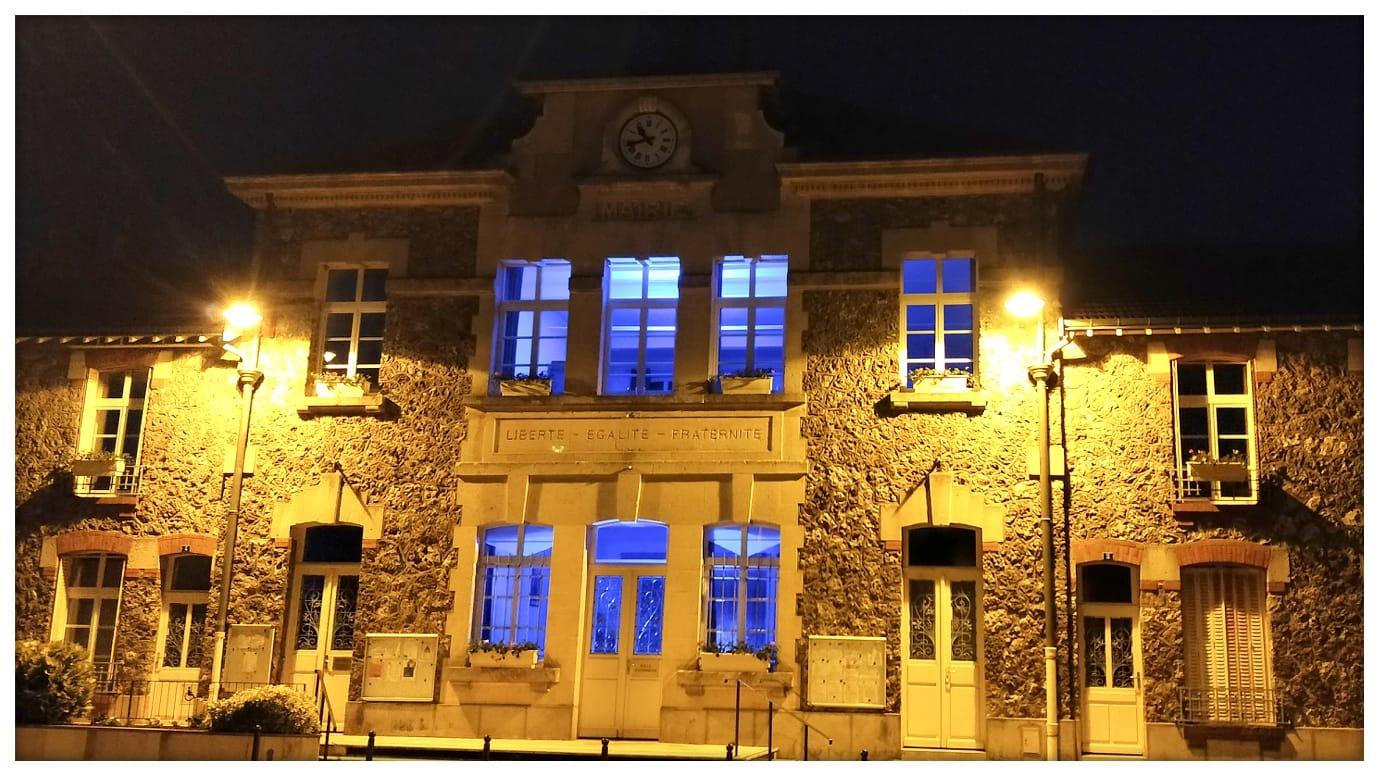 Mairie a cote de Reims