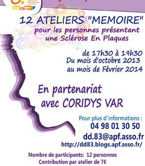 Ateliers mémoire dans le Var