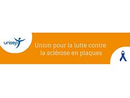 Bandeau entête Union pour la lutte contre la sclérose en plaques
