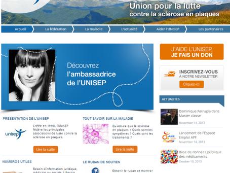 Un nouveau site Internet pour UNISEP
