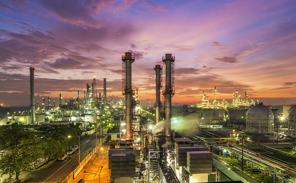 Oil refinery at dramatic twilight.jpg