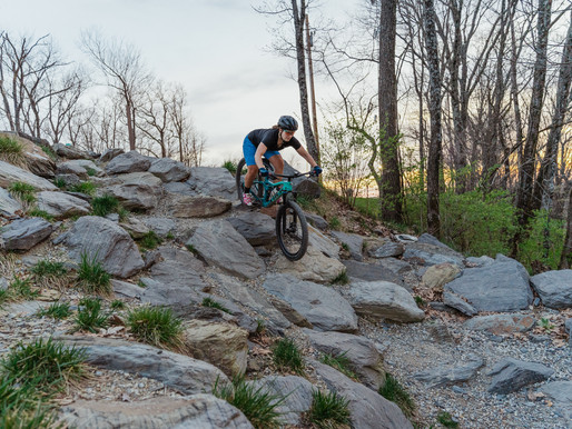 Live in Johnson City: Tannery Knobs Mountain Bike Park