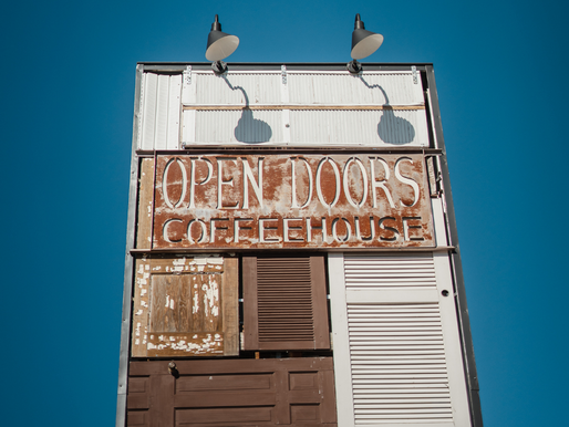 Live in Johnson City: Open Doors Coffeehouse