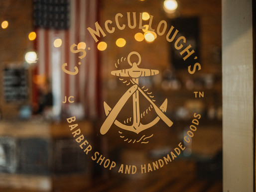 Live in Johnson City: C.S. McCullough's Barber Shop