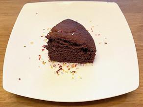 Gâteau chocolat / courgette (sans beurre)