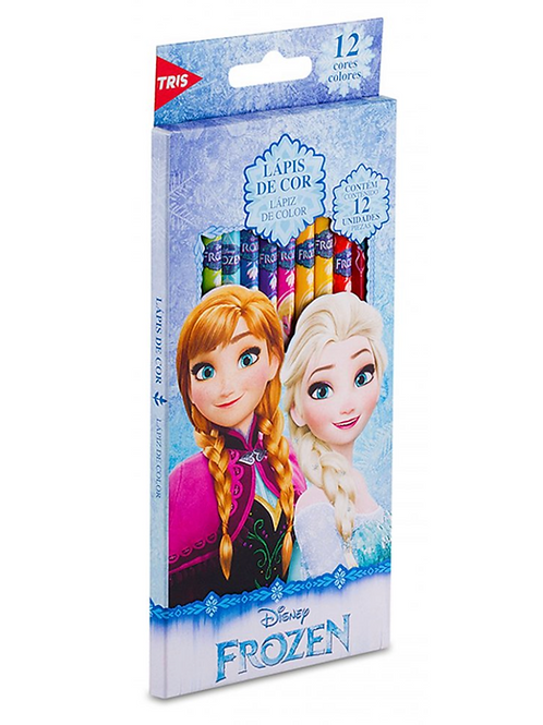 Lápis de Cor Frozen