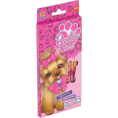 Lápis de Cor Barbie Pets