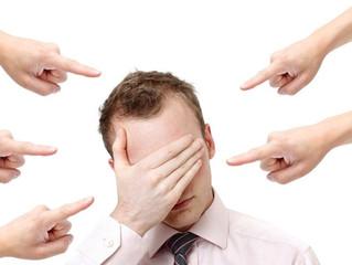 Sentimento de Culpa  (uma armadilha que nós mesmos criamos)