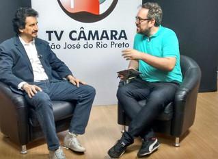 """Dr. Rubens Siqueira é entrevistado no programa """"Com a Palavra"""""""