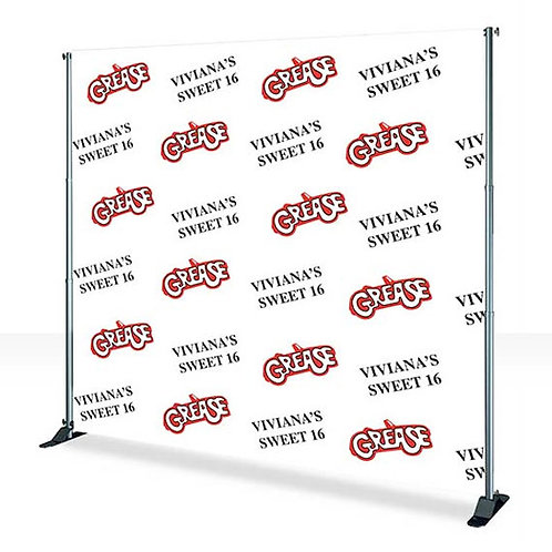 Banners Backdrop (Step & Repeat)