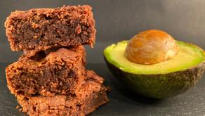 Gluten free chocolate avocado brownies