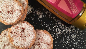 Sugar free coconut cinnamon biscuits