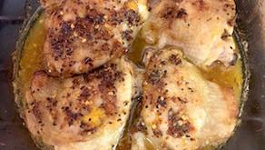Spicy citrus chicken
