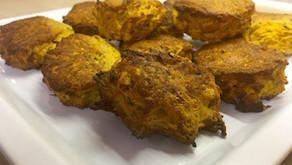 Vegan sweet potato rosti