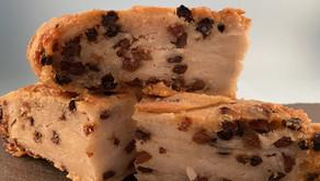 Gluten free sourdough lardy cake
