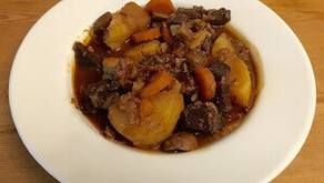 Ox cheek winter warming stew