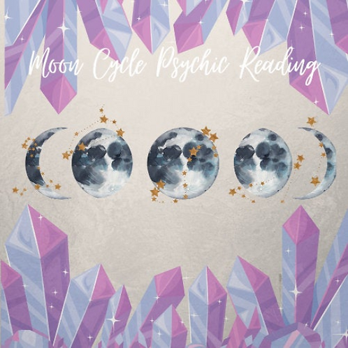 Moon Cycle Psychic Email Reading