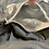 Thumbnail: Gunmetal Jersey Knit Sharf (scarf/shawl) w/ 2 zippered pockets