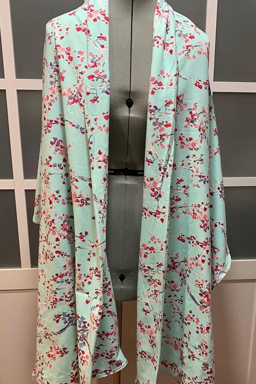 Cherry Blossom Jersey Knit Sharf