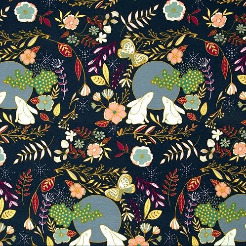 Jersey Knit Infinity Scarf w/ Zippered Pocket