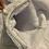 Thumbnail: Navy Minky Sharf (scarf/shawl) w/ 2 zippered pockets