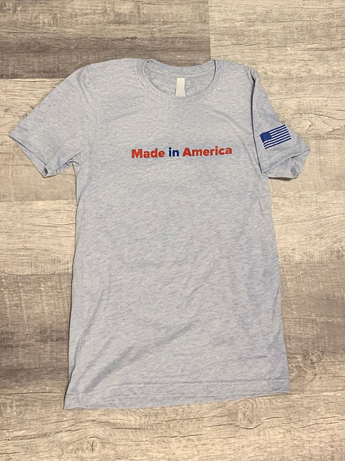 """""""Made in America"""" Unisex Soft Tee (XS-4XL)"""
