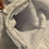 Thumbnail: White Minky Sharf (scarf/shawl) w/ 2 zippered pockets