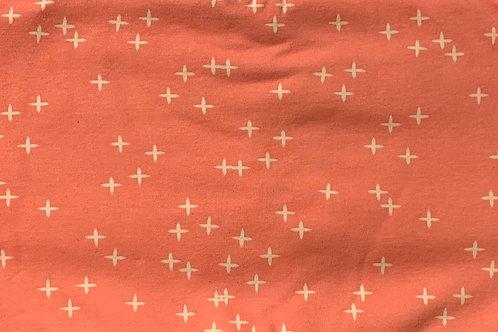 Pinky Jersey Knit Infinity Scarf w/ Hidden Zippered Pocket
