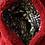 Thumbnail: One Loop 'Cardinal' Minky Scarf w/ Zippered Pocket