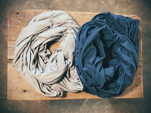 Lightweight Bamboo Organic Cotton Infinity Scarf