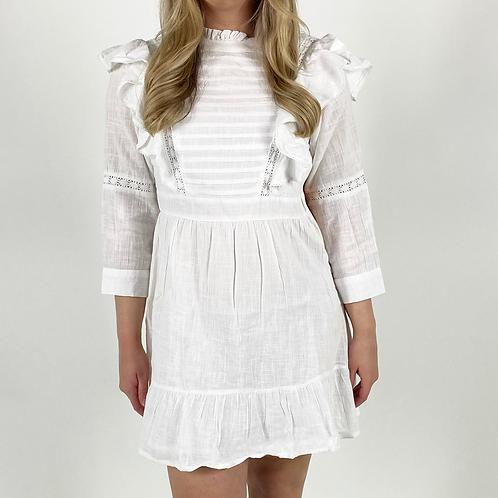 Blythe Ruffle Mini Dress