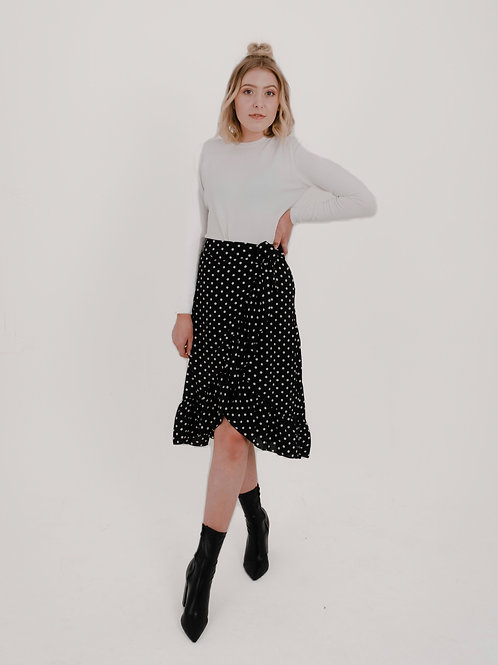 Alba Polkadot Skirt