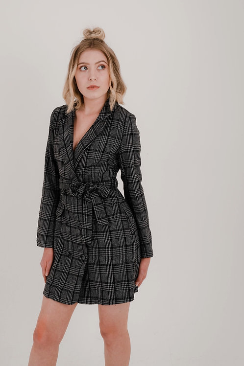 Alle Tuxedo Style Dress