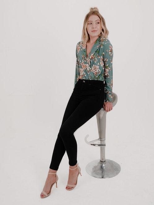 Louisa Floral Print Bodysuit