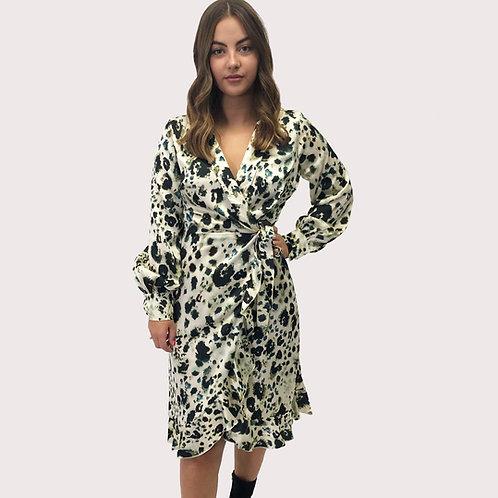 Melanie Ink Printed Dress