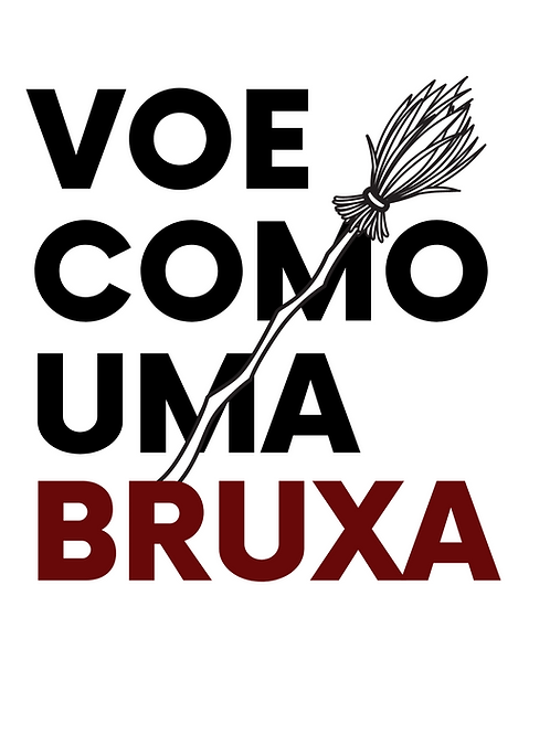 Camiseta VOE COMO UMA BRUXA