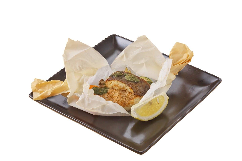季節の魚のカルトッチョ