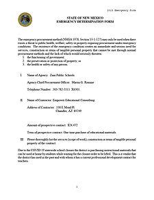 2020 Emergency Procurement Form1024_1.jp