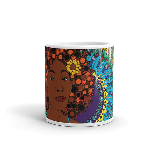 Coloring Curls Mug -Melanie
