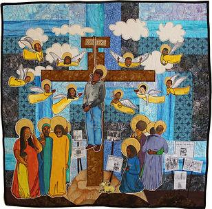 Contextual Crucifixion by Unicia R Buste