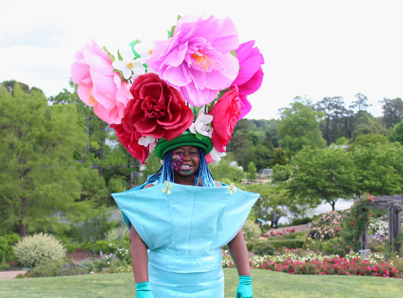 Bouquet of flowers costume