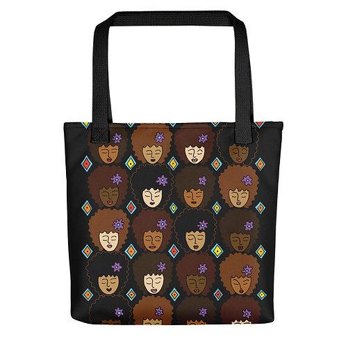Coloring Curls Tote bag - Love My Afro