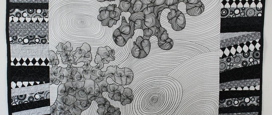 """Impressions of Identity"" Art Quilt"