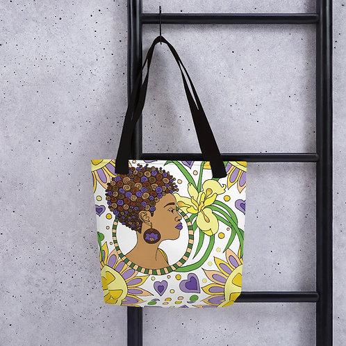 Citris Afro Tote bag