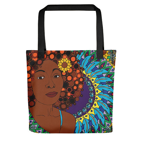 Coloring Curls Tote bag - Melanie