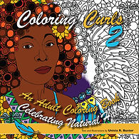 Cover of Coloring Curls 2 designed by Unicia R. Buster